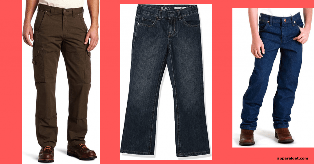 What jeans for the husky body sizes?